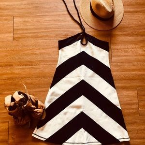 Saturday/Sunday Anthropologie halter sundress